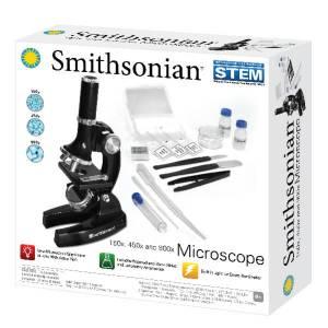 Smithosonian 150X, 450X and 900X Microscope Kit