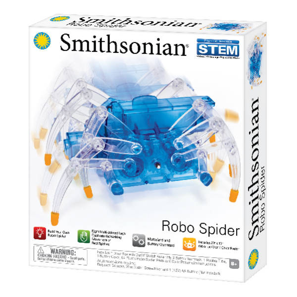 Smithsonian Science Kits – Robo Spider