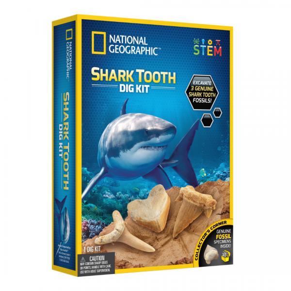 National Geographic - Shark Teeth Dig Kit