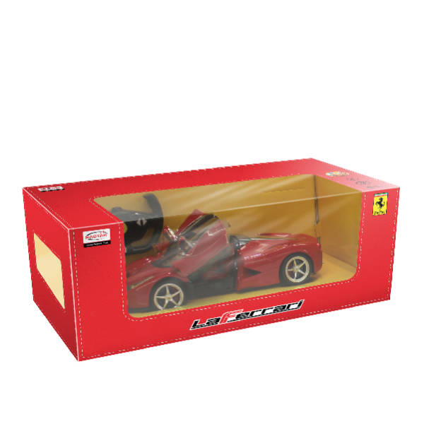 RAStar - 1:14 Ferrari LaFerrari Remote Control Model Car (Yellow & Red)
