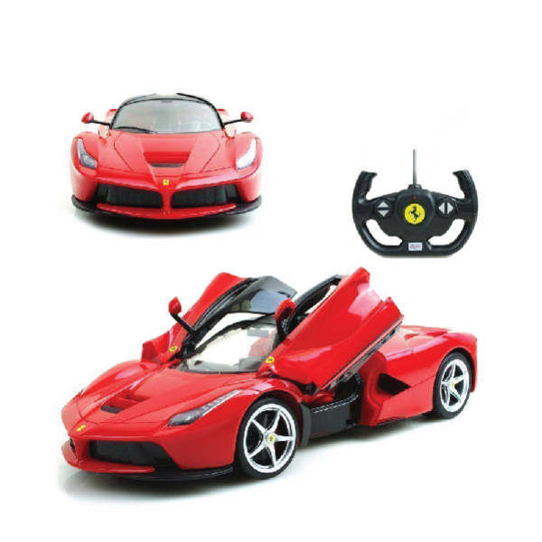 RAStar – 1:14 Ferrari LaFerrari Remote Control Model Car (Yellow & Red