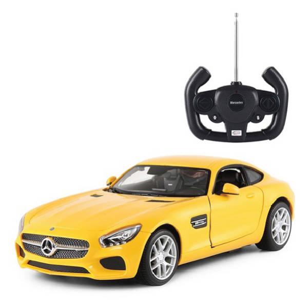 RAStar – 1:24 Mercedes AMG GT Remote Control Model Car (Yellow & Red)
