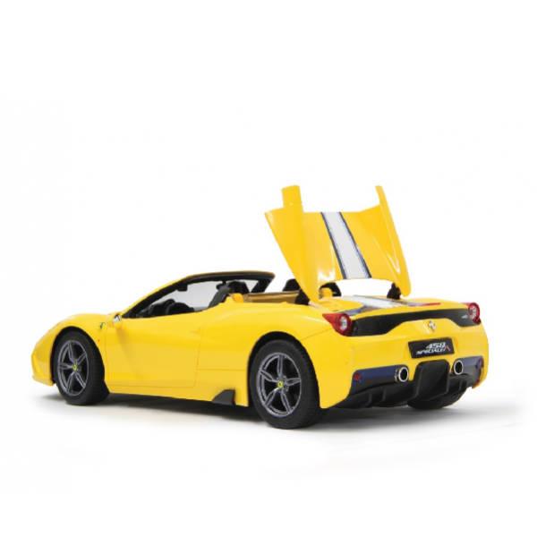 RAStar – 1:14 Ferrari 458 Speciale Remote Control Model Car (Yellow & Red)