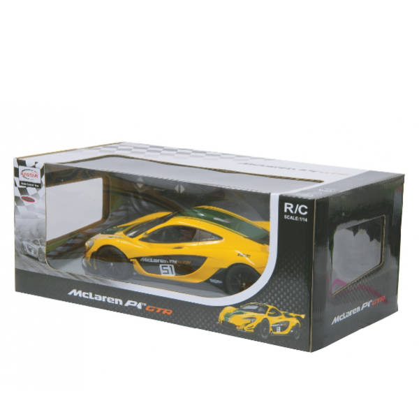 RAStar – 1:14 Scale McLaren P1 GTR Remote Control Model Car