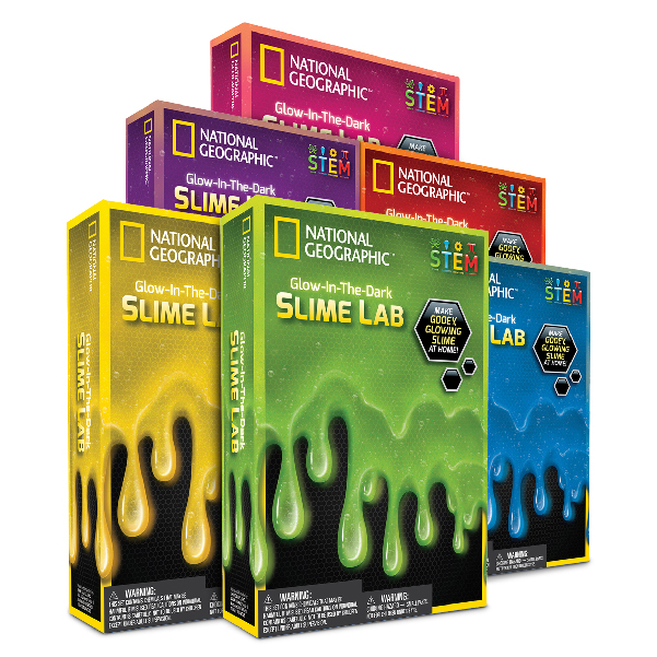 National Geographic - Glow-In-The-Dark Slime Lab