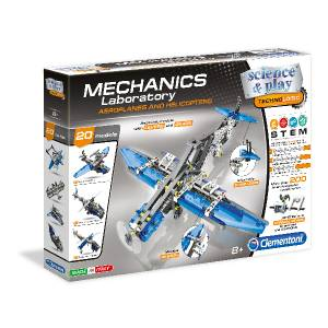 Clementoni Science Mechanics Laboratory Aeroplanes Helicopters