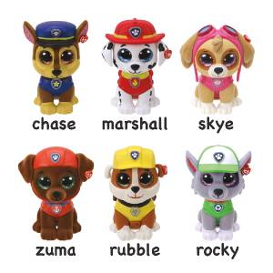 TY - Mini Boos Paw Patrol Series