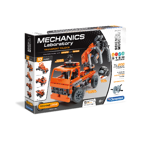 Clementoni Science - Mechanics Laboratory Transport Trucks