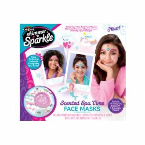 Shimmer 'n Sparkle - Make Your Own Spa Time Face Masks