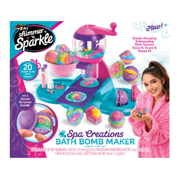 Shimmer 'n Sparkle - Spa Creations Bath Bomb Maker