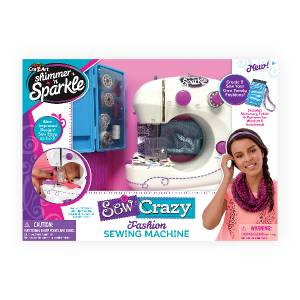 Shimmer 'n Sparkle - Sew Crazy Sewing Machine