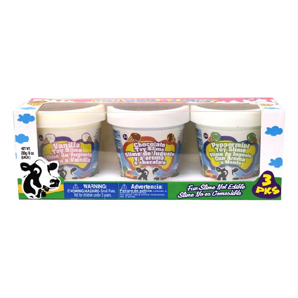 Creative Slime - Ice-Cream Putty 3PK Set