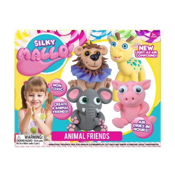 Mallo - Silky Mallo Animal Friends