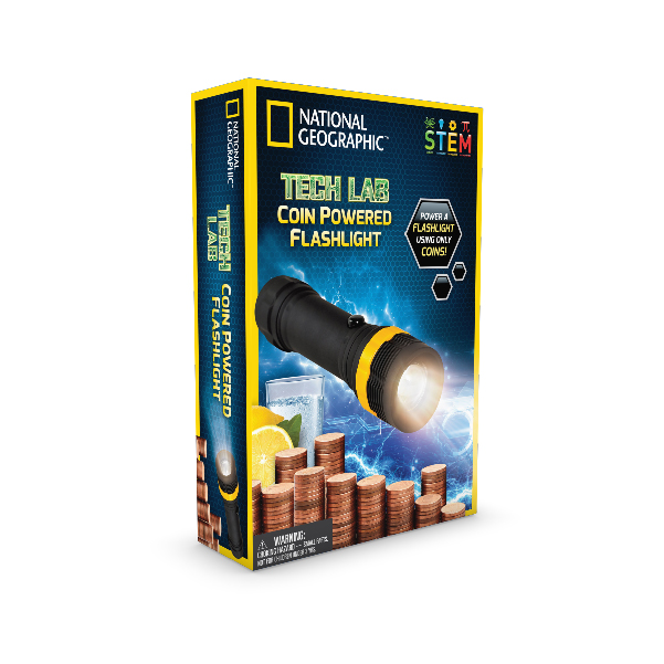 National Geographic - Coin Powered Flashlight