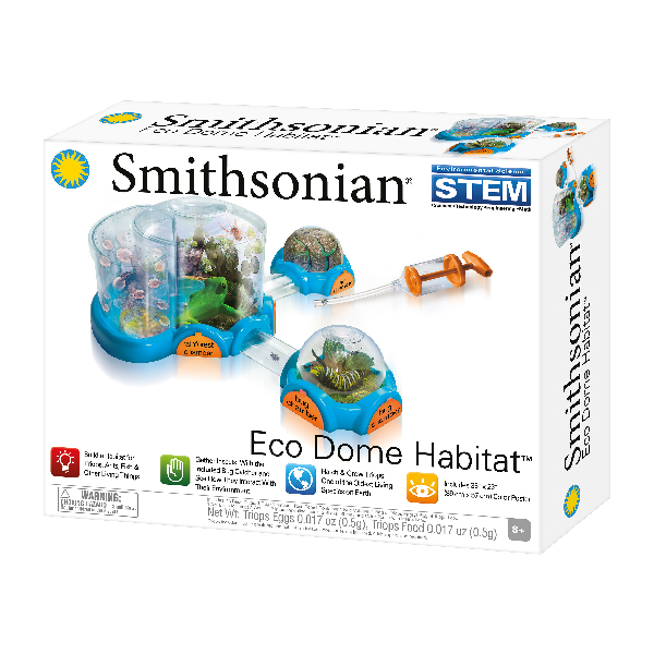 Smithsonian - Eco Dome Habitat with Triops