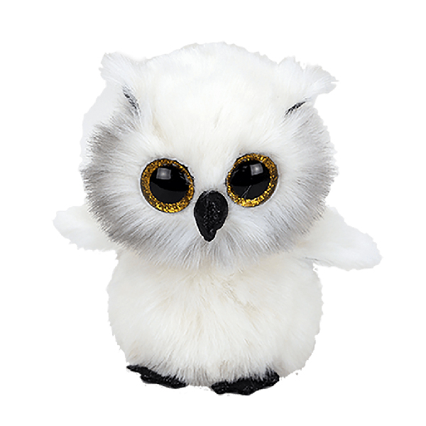 Ty Beanie Boos - 13inch Plush (Austin the Snowy White Owl)