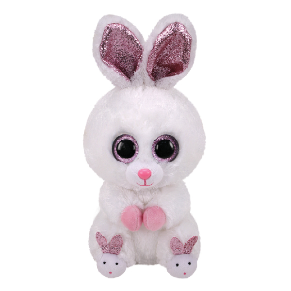 Ty Beanie Boos - 13in. Med Plush (Slippers the Rabbit with Slippers)