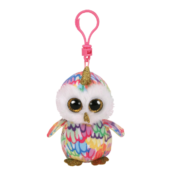 Ty Beanie Boos - 5inch Clip (Enchanted Owl with Horn)