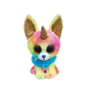 Ty Beanie Boos - 6inch Plush (Multicoloured Chihuahua with Horn)