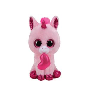 Ty Beanie Boos - 6inch Plush (Darling the Unicorn Valentine)
