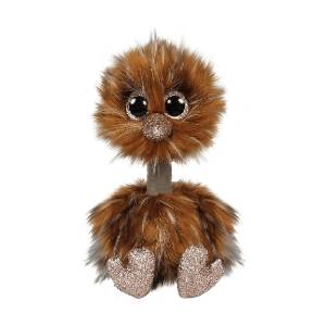 Ty Beanie Boos - 6inch Plush (Orson the Brown Ostrich)