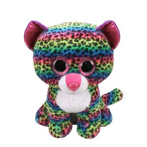 Ty Beanie Boos - 16inch Plush (Dotty the Multicoloured Leopard)