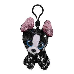 Ty Flippables - 5inch Sequin Clip (Portia the Terrier)