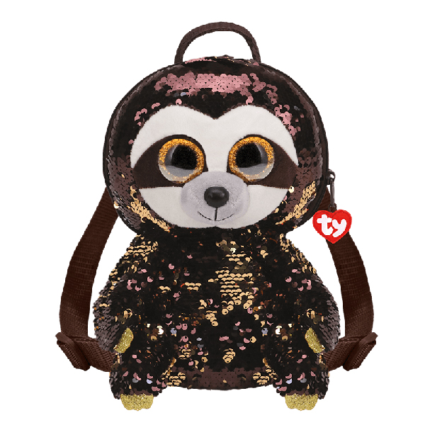Ty Fashion – Sequin Backpack (Dangler the Sloth) V2