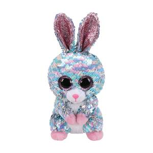 Ty Flippables - 6inch Sequin Plush (Raindrop the Blue Bunny)