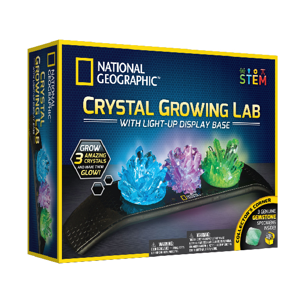 National Geographic - Crystal Growing Lab