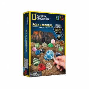 National Geographic - Rock & Mineral Starter Kit