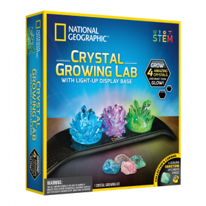 National Geographic -Light Up Crystal Growing Kit