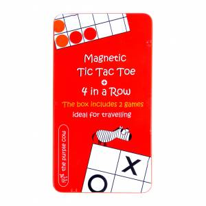 To Go Magnetic Travel Games - Magnetic Tic Tac Toe + 4 in a Row