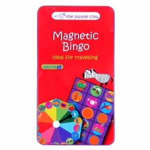To Go Magnetic Travel Games - Magnetic Bingo