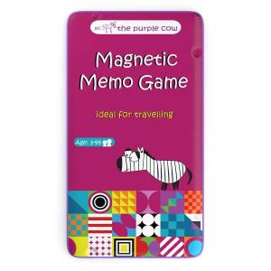 To Go Magnetic Travel Games - Magnetic Memo Game