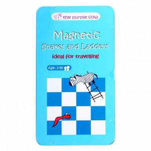 To Go Magnetic Travel Games - Magnetic Snakes and Ladders