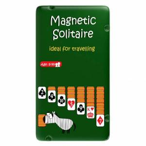 To Go Magnetic Travel Games - Magnetic Solitaire