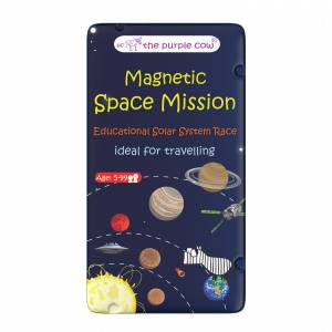 To Go Magnetic Travel Games - Magnetic Space Mission