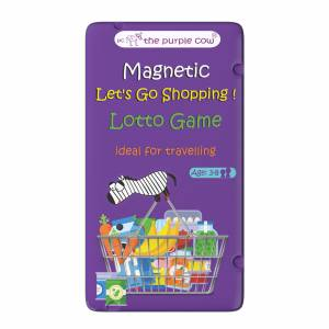 To Go Magnetic Travel Games - Magnetic Let's Go Shopping!