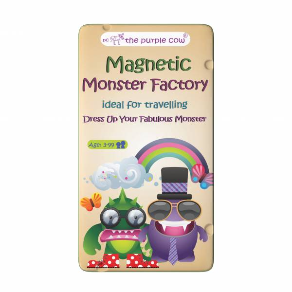 To Go Magnetic Travel Games - Magnetic Monster Factory