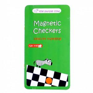 To Go Magnetic Travel Games - Checkers