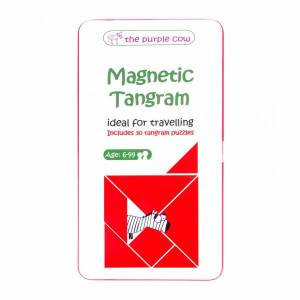 To Go Magnetic Travel Games - Magnetic Tangram