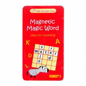 To Go Magnetic Travel Games - Magnetic Magic Word