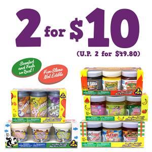 Creative Food Slime Promo - 2 for $10