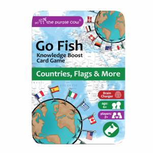 Go Fish - Countries, Flags & More