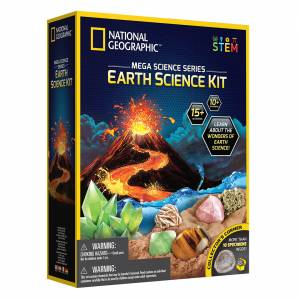 National Geographic - Earth Science Kit (Mega Science Series)