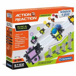 Clementoni - Action & Reaction Musical Tracks (Expansion Pack)