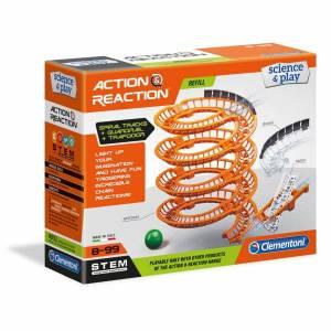 Clementoni - Action & Reaction Spiral Tracks + Guardrail + Trapdoor (Refill)