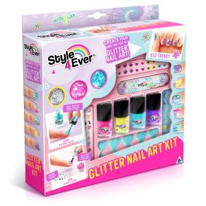 Style 4 Ever Glitter Nail Art Kit