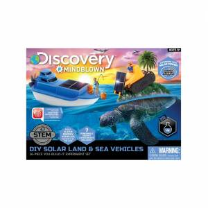 Discovery Mindblown - DIY Solar Land and Sea Rover ( Solar Experiment Set )